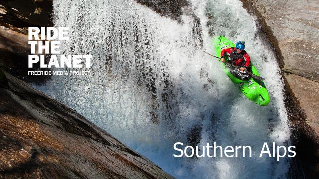 RideThePlanet: Southern Alps. Whitewater kayaking