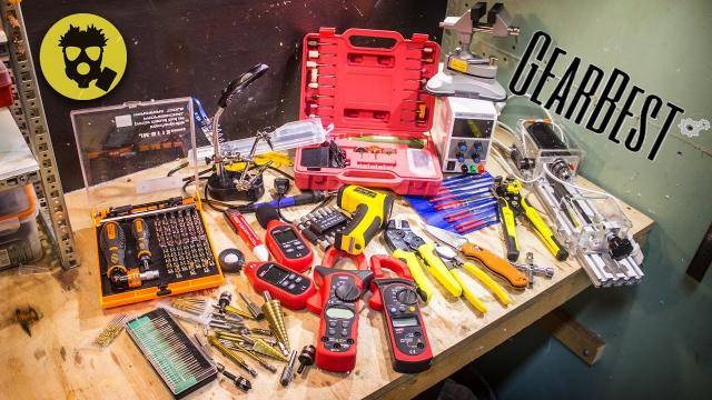 🔥 Посылка на 700$ из GearBest. Инструменты, приборы и полезные мелочи.