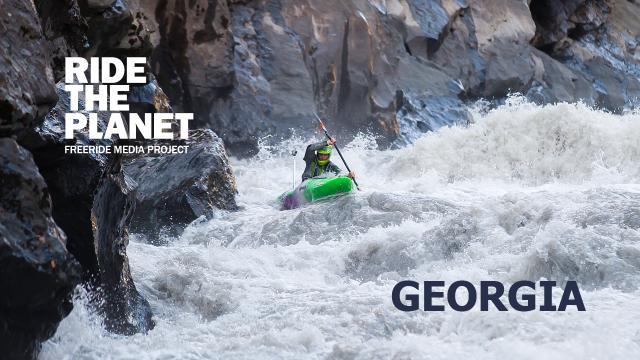 RideThePlanet: Georgia. Whitewater kayaking