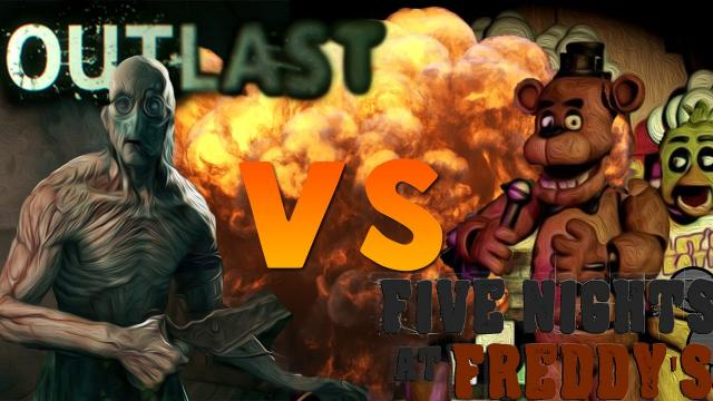 Великая Рэп Битва - Five Nights at Freddy's VS Outlast