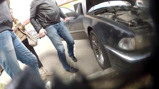 (Не)Годные остатки от 7-ки БМВ/BMW за 250 тыс руб. Лиса Рулит.