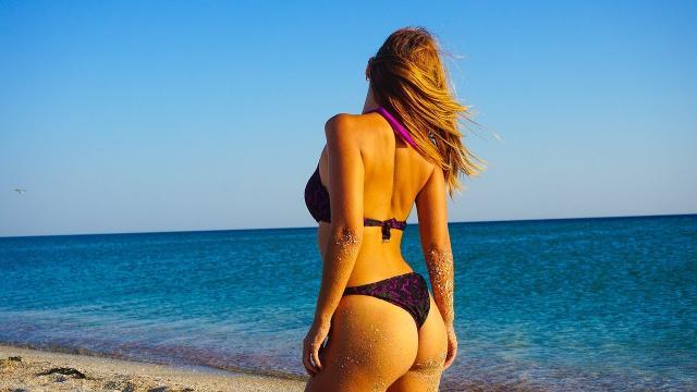 Огромный песчаный пляж в КРЫМУ! Самое ЧИСТОЕ МОРЕ тут! Евпатория