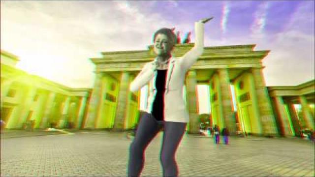 """Angela Merkel   in 3 D "" Animation"