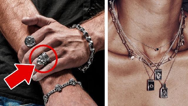Мужские браслеты, перстни, кольца, подвески. Что означают, с чем носить? Мужские аксессуары.